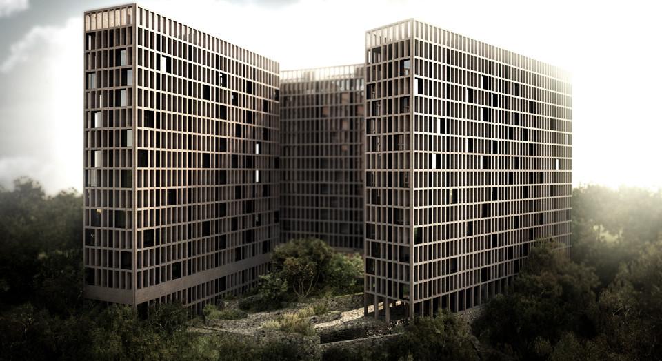 Proyecto Conjunto Habitacional LM de Luis Aldrete / México, Courtesy of Luis Aldrete Arquitectos