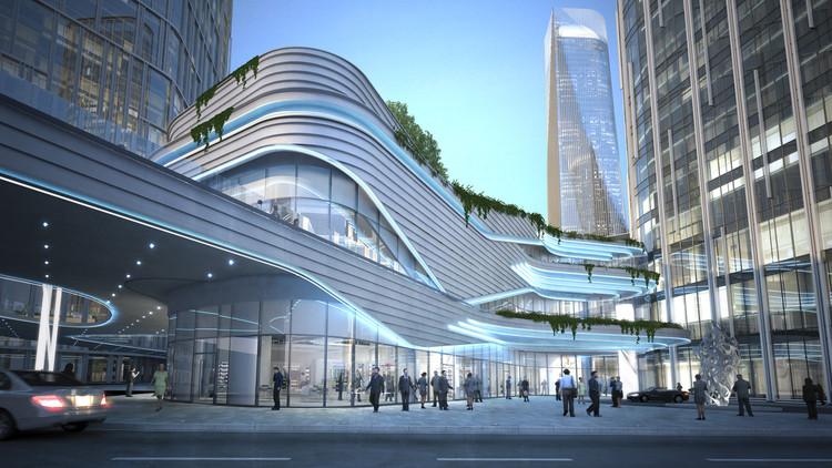 Zhongxun Times / 10 Design, Cortesía de 10 Design