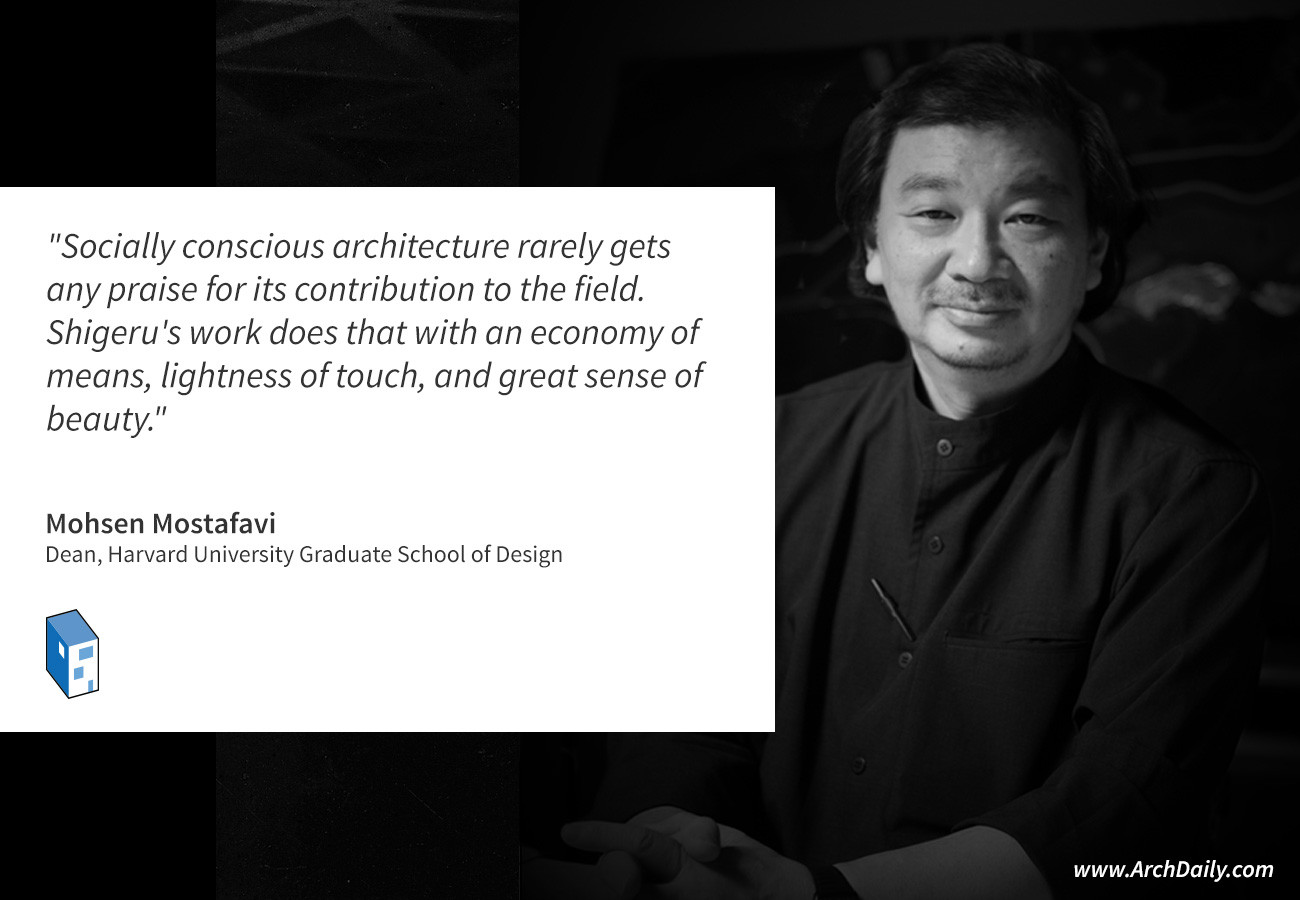 Critics and Peers Comment on Shigeru Ban's Pritzker Prize