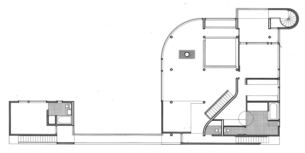 Ad classics saltzman house richard meier partners for Adhouse plans