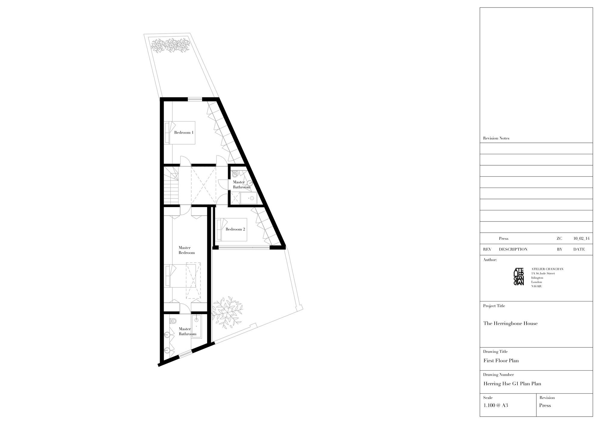 Herringbone House Atelier Chanchan