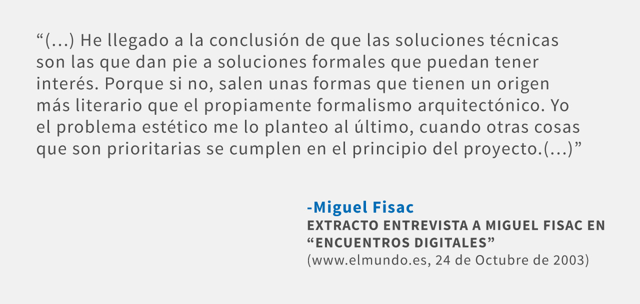 Frases: Miguel Fisac