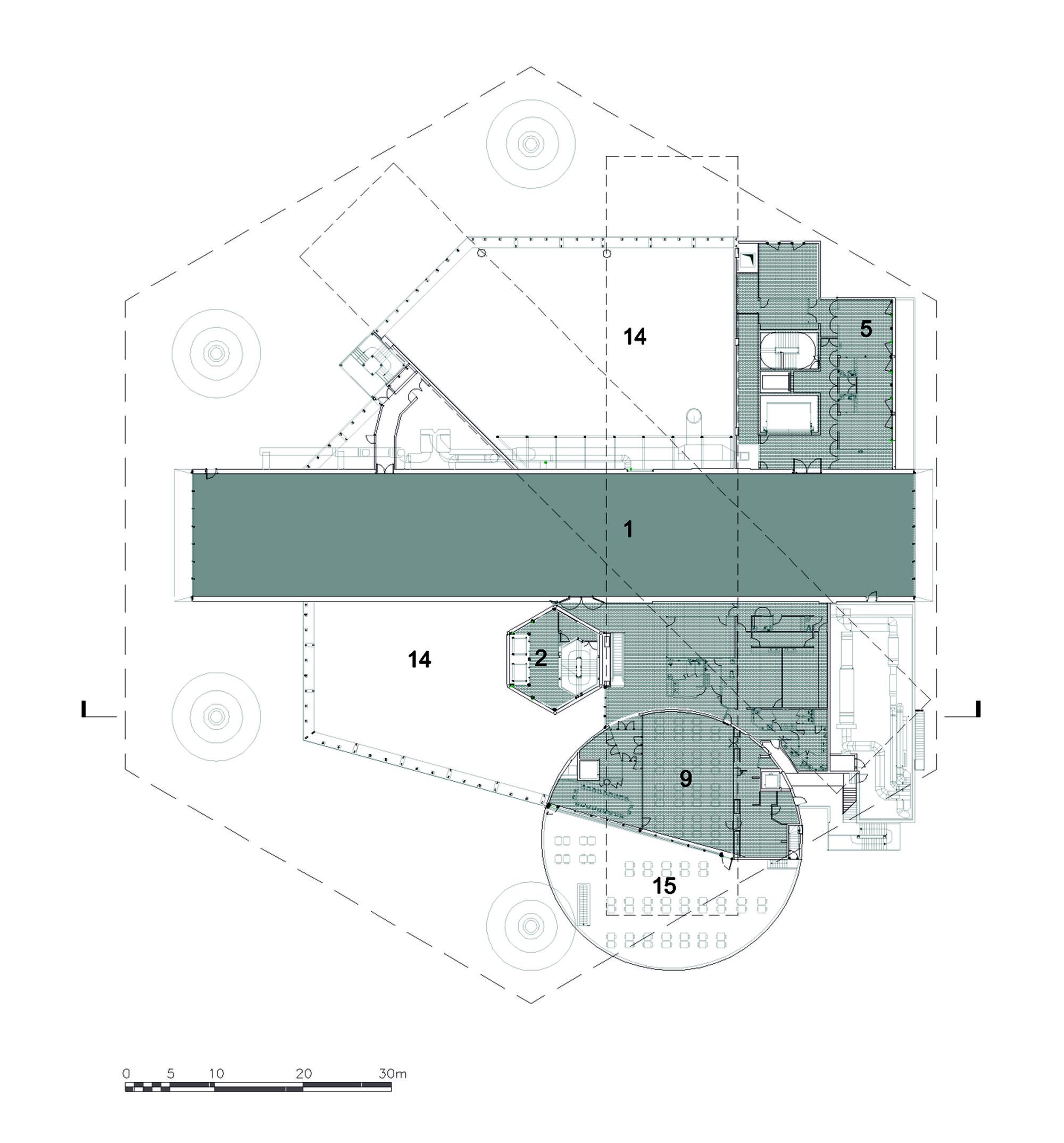 The Metz Floor Plan Galer 237 A De Centre Pompidou Metz Shigeru Ban Architects 9