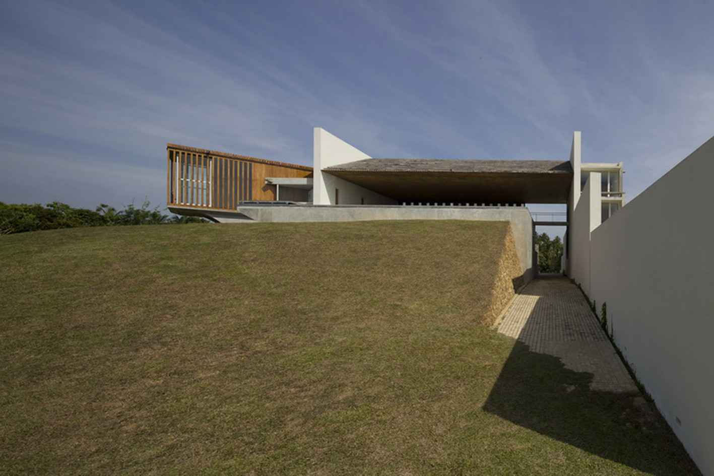 Villa Vista Shigeru Ban Architects Archdaily