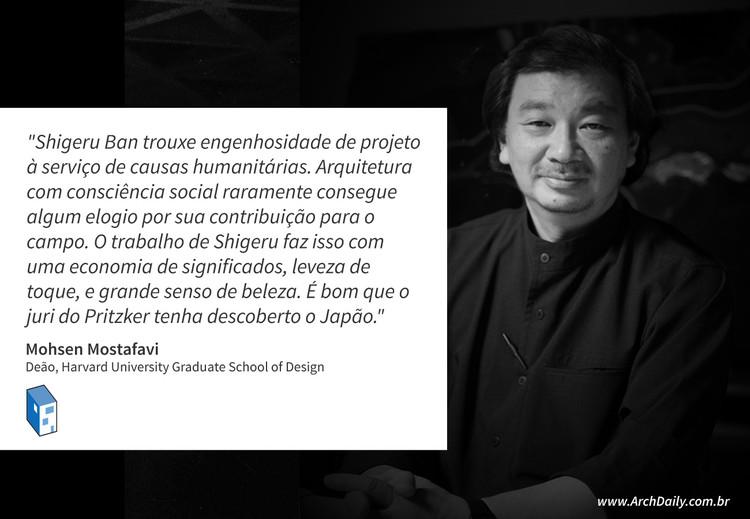 Críticas e comentários sobre o Prêmio Pritzker de Shigeru Ban