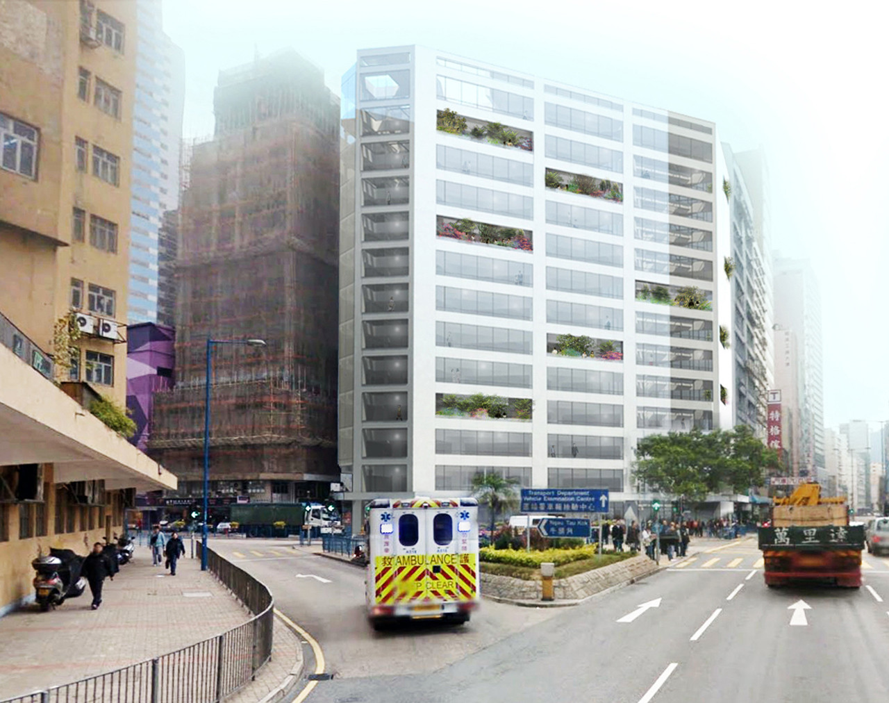 MVRDV Begins Work on Cheung Fai Conversion in Hong Kong, © MVRDV