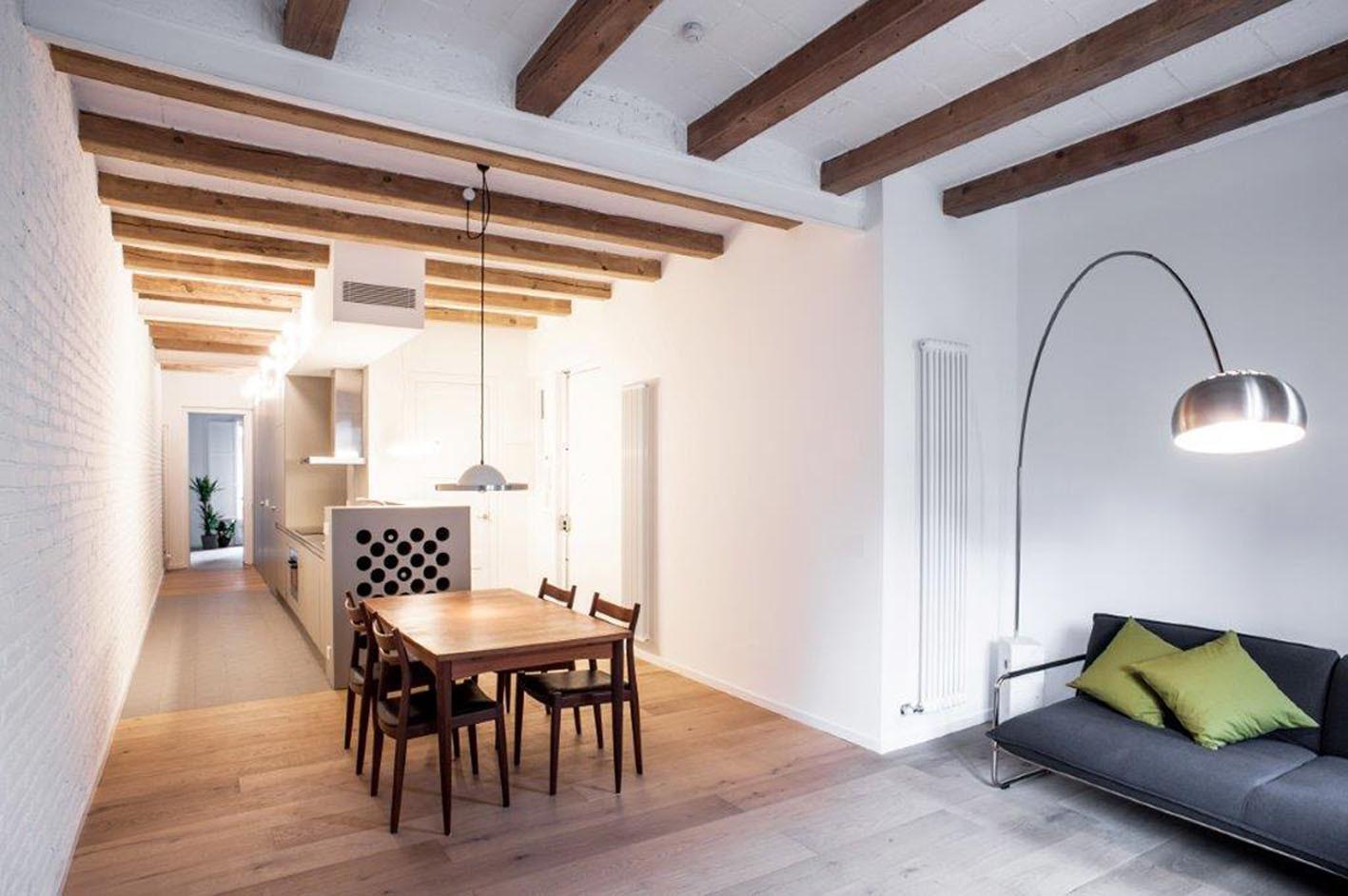 Galer a de reforma integral de piso pasante del ensanche - Reforma pisos barcelona ...