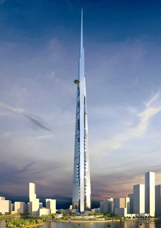 Kingdom Tower. Image © Adrian Smith + Gordon Gill Architecture