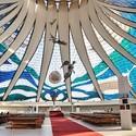 Cathedral of Brasilia, Brazil. Architect: Oscar Niemeyer. Image © Wikimedia Commons