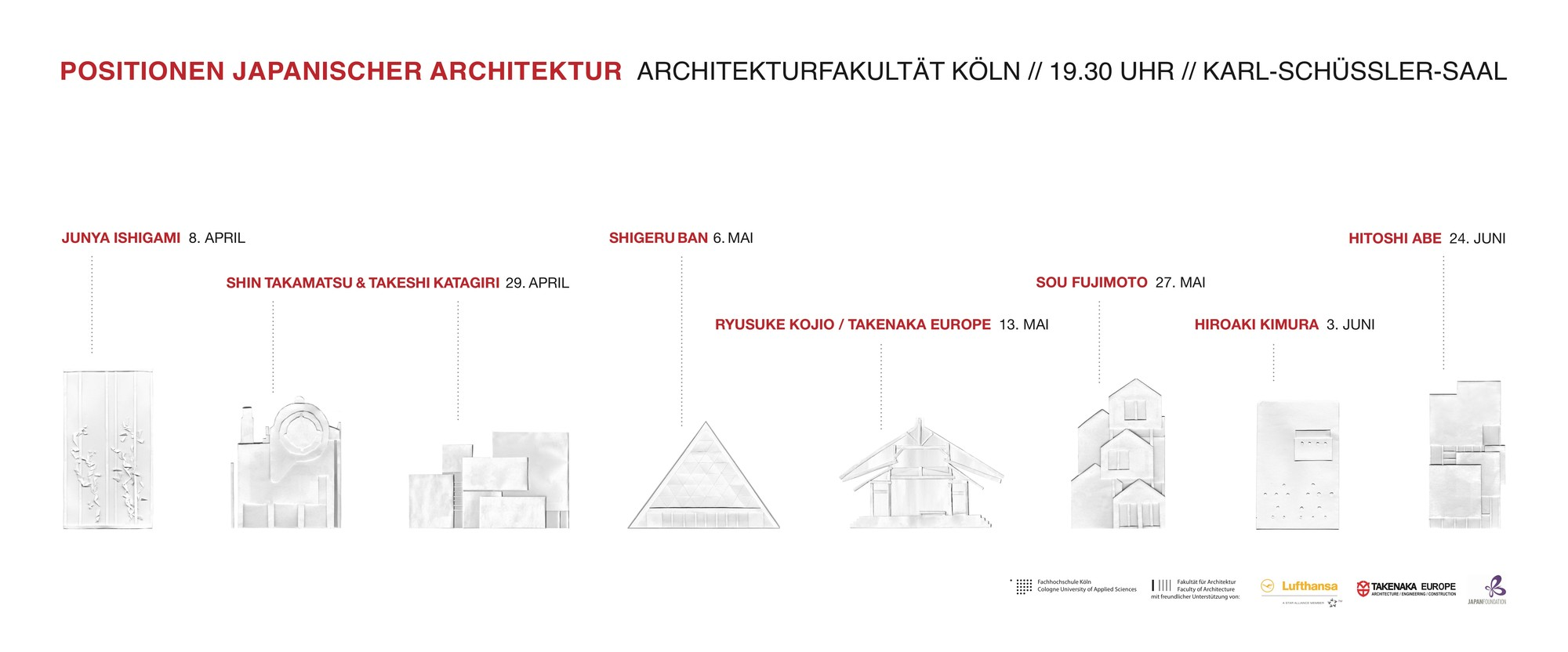 gallery of lecture series japanese architecture at at cologne