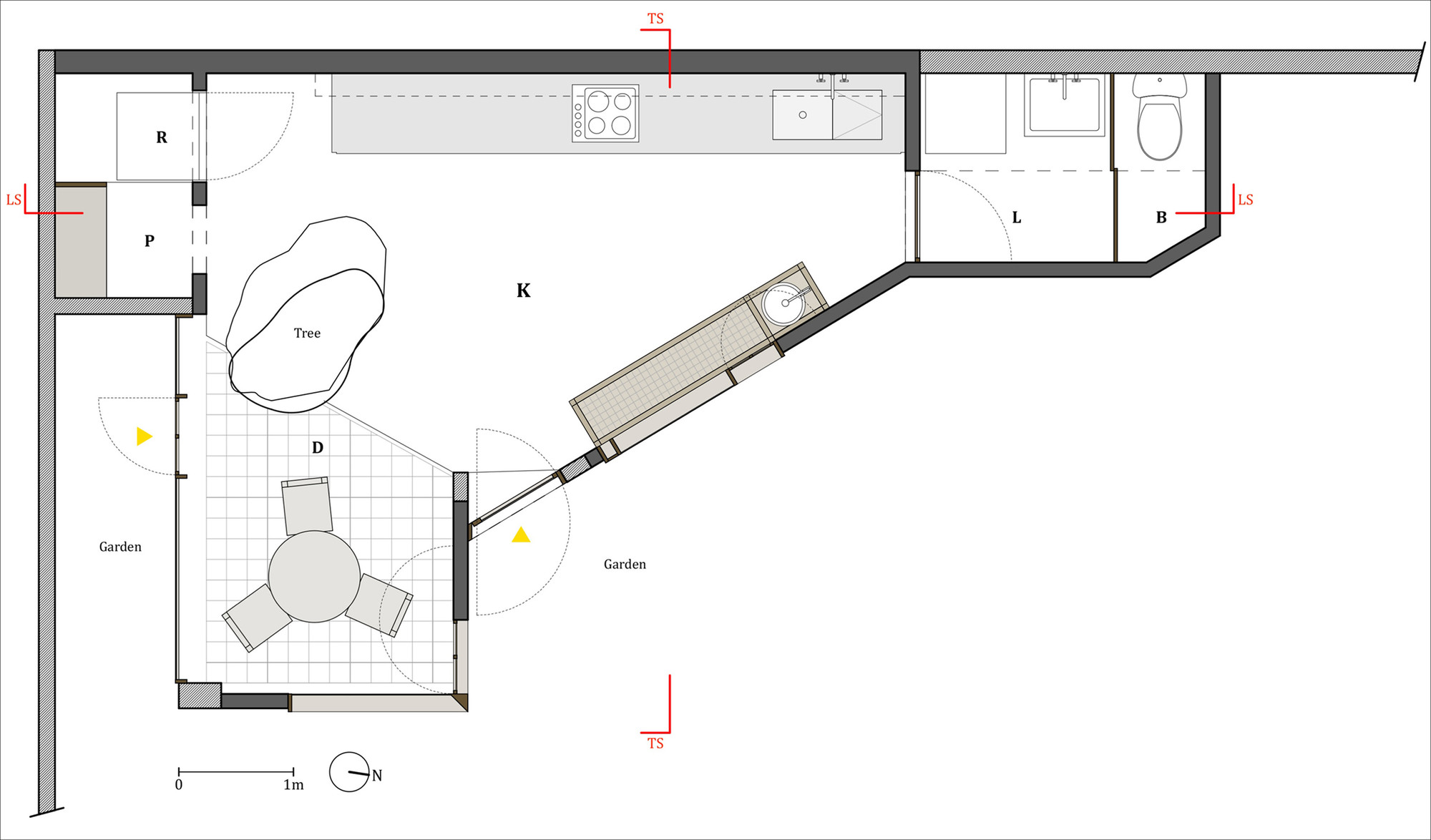 Kitchen in lima ghezzi novak archdaily for Planning a new kitchen