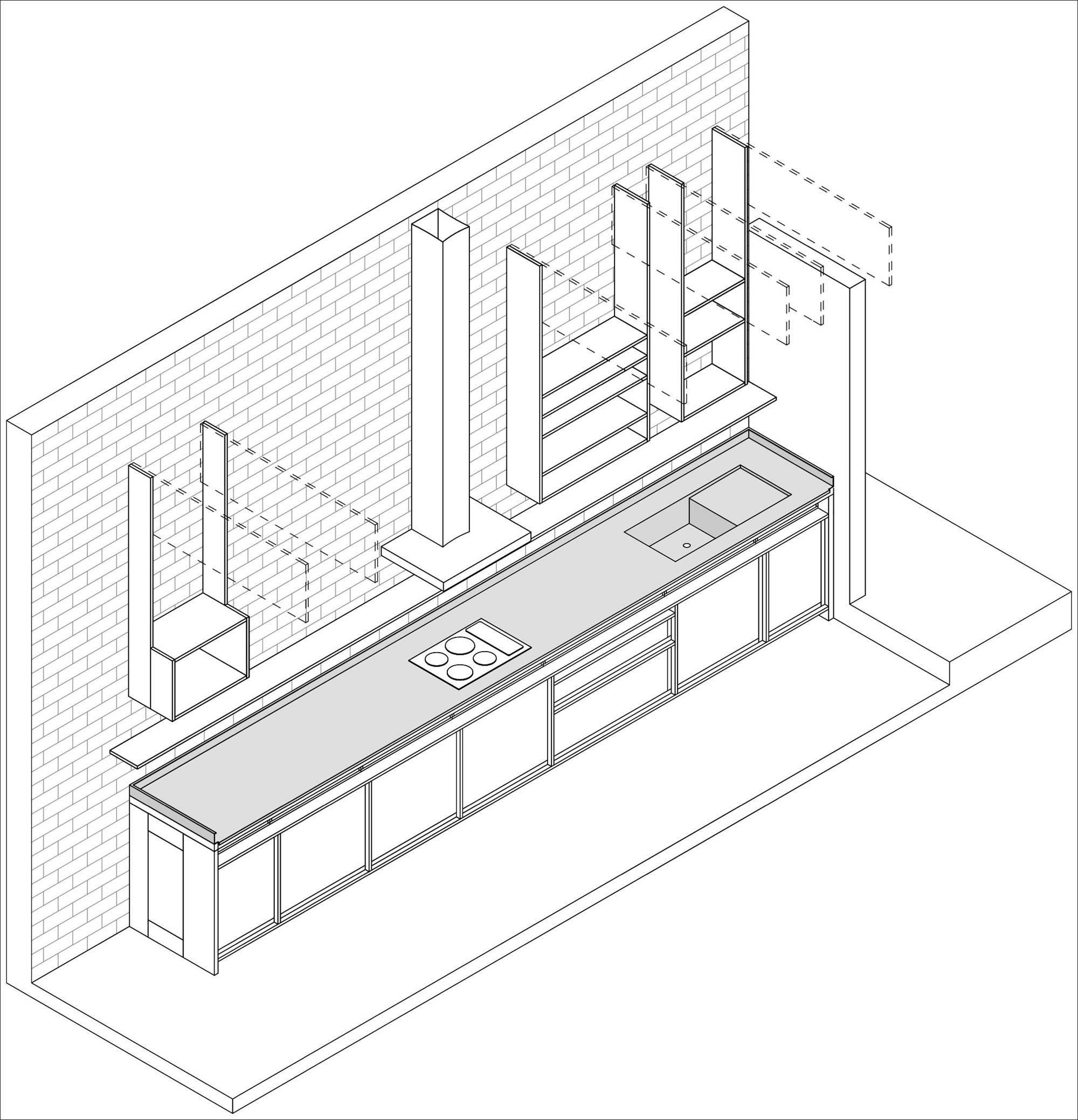 Gallery Of Kitchen In Lima / Ghezzi Novak