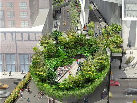 "The High Line's ""Spur"" / Diller Scofidio + Renfro"