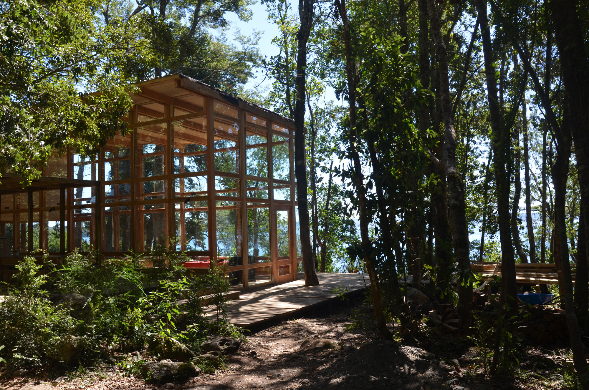 House at Rupanco Lake / Squella Arquitectos, © German Squella