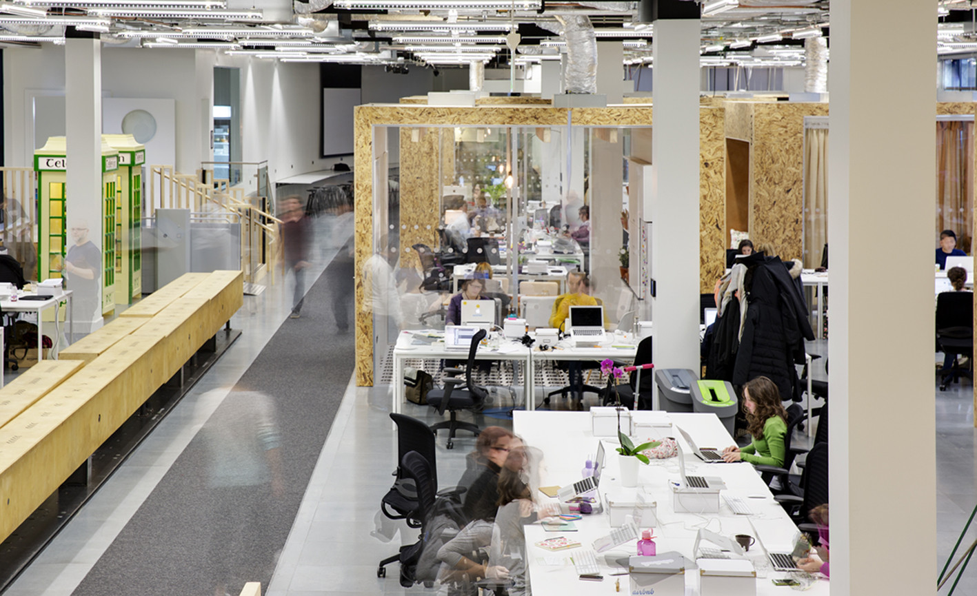 Gallery of airbnb s european operations hub in dublin heneghan peng architects 9 - Airbnb office dublin address ...
