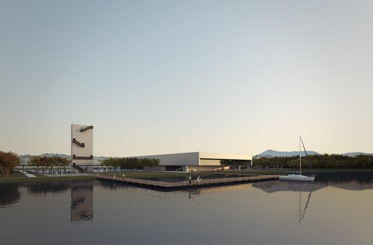 Proposta vencedora para o Centro Cultural de Eventos e Exposições em Cabo Frio / Estúdio 41, Cortesia de Estúdio 41