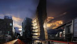 eVolo Skyscraper Winner 2014 Transforms Korean 'Hanok' Into Impressive High-Rise