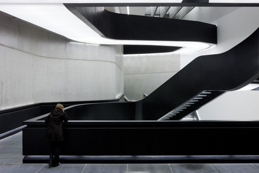 """Architects are in charge of the FORM of the built environment, not its content. We need to grasp this and run with this despite all the (ultimately conservative) moralizing political correctness that is trying to paralyse us with bad conscience and arrest our explorations..."" - Patrik Schumacher. Above, the MAXXI Museum by Zaha Hadid Architects. Image © Iwan Baan"