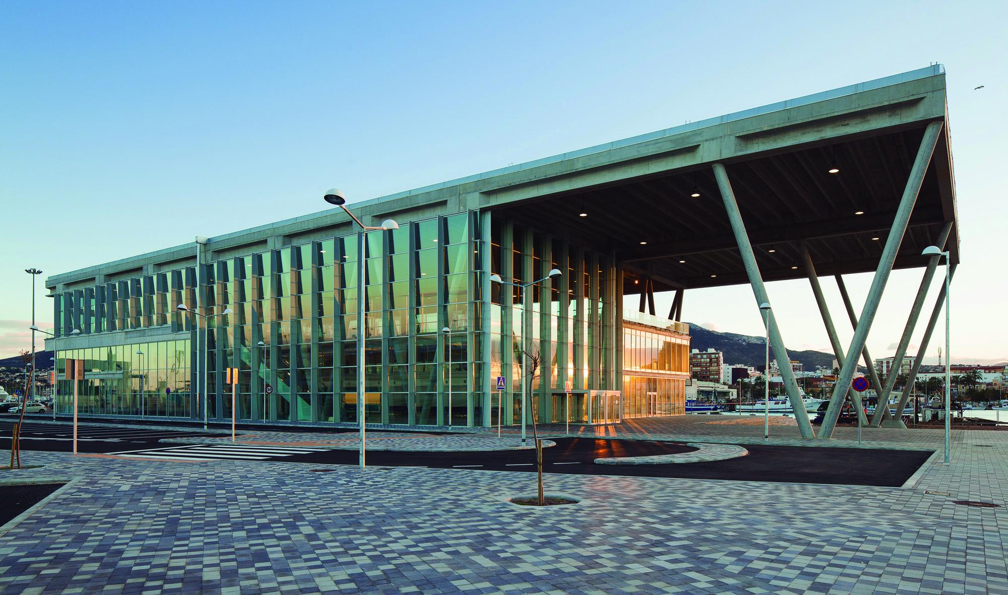 Nueva Terminal de Pasajeros del Puerto de Denia  / Alberich Casqueiro + Proes Consultores SA, © Ferrovial