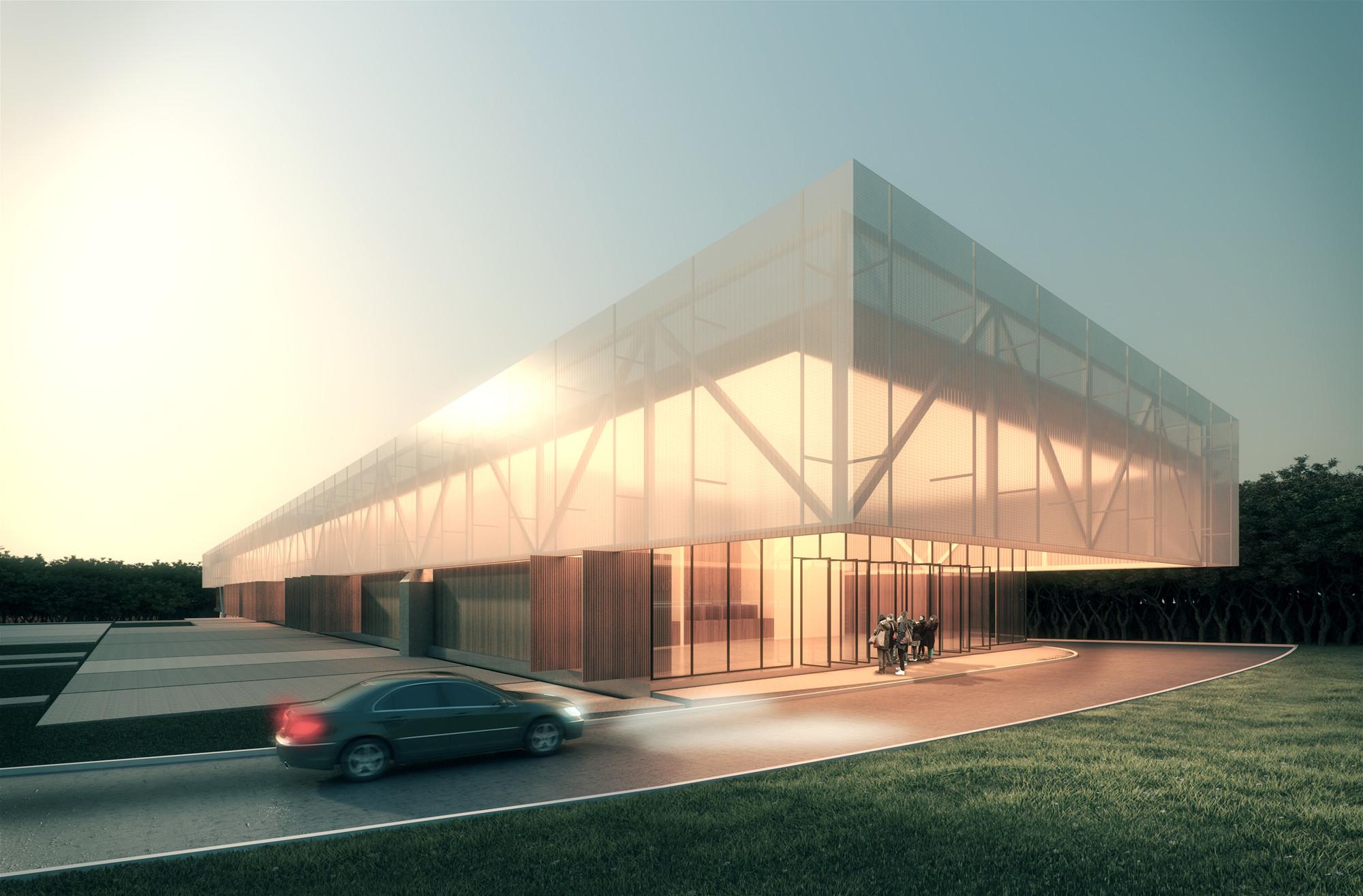 Proposta vencedora para o Centro Cultural de Eventos e Exposições em Nova Friburgo  / Estúdio 41, Courtesy of Estúdio 41