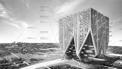 A Vertical City for Suburban Detroit Places in eVolo Skyscraper Competition