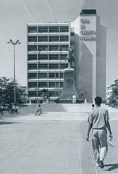 Clásicos de Arquitectura: Edificio Caja Agraria de Barranquilla / Fernando Martínez Sanabria, © Cortesía de Archivo Documentación y conservación del patrimonio arquitectónico y urbanístico moderno colombiano, DoCoMoMo.