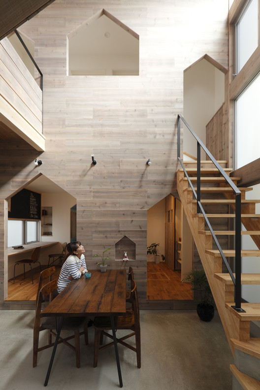 Hazukashi House  / ALTS Design Office, Courtesy of ALTS Design Office