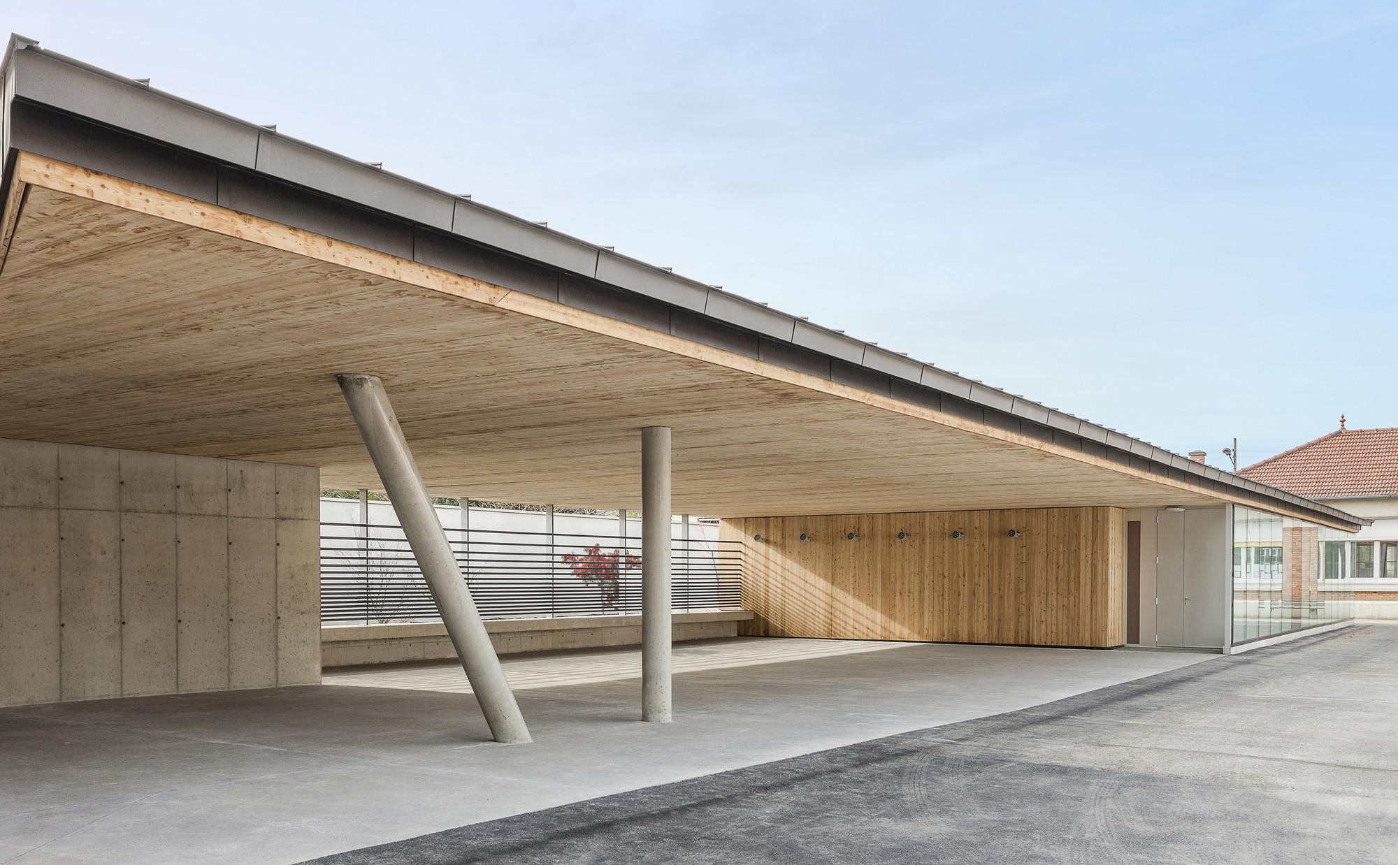Primary School J.Jaurès II / YOONSEUX Architectes, © Fabrice Dunou