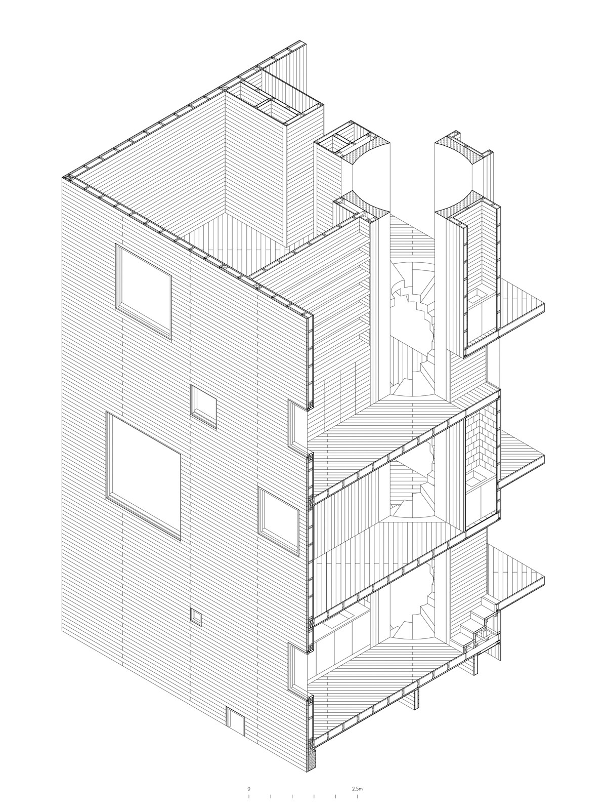 Gallery of gago house pezo von ellrichshausen 21 gago houseconstruction axon ccuart Gallery
