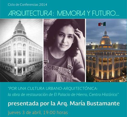 """Ciclo de conferencias """"Arquitectura: memoria y futuro"""" en el Palacio de Bellas Artes"""