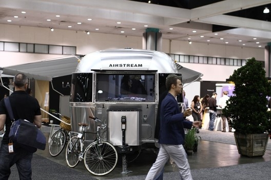 DOD Airstream Installation. Image Courtesy of Dwell Media LLC - PST
