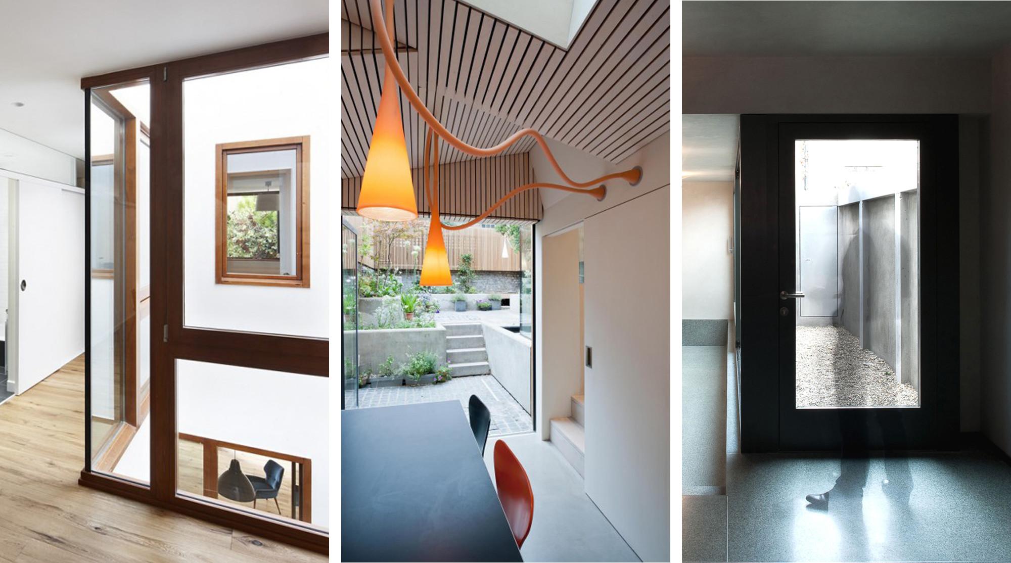 Casas: Patios de luz
