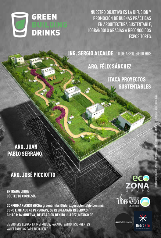 Serie de conferencias de sustentabilidad / Green Buildings Drinks