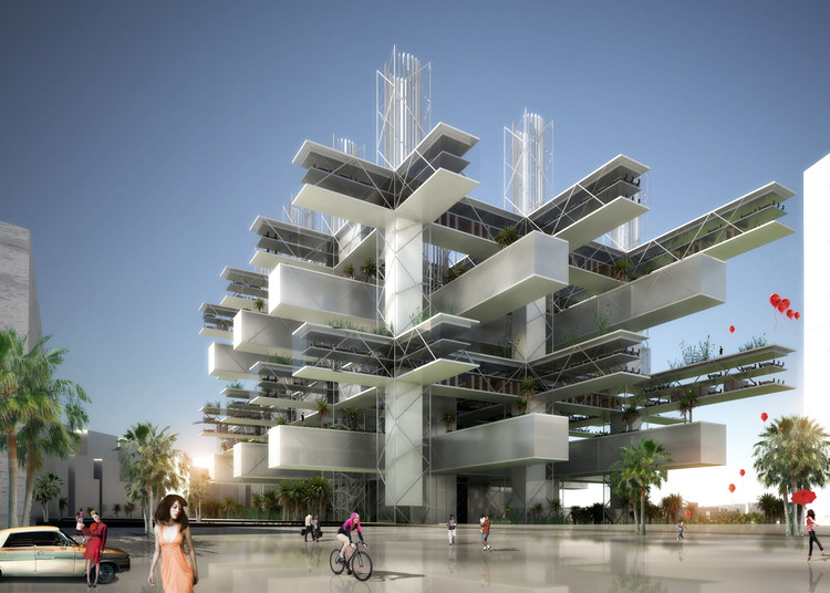 SANE Architecture's Taichung City Cultural Centre: Entry in the Future Project Awards 2014, Courtesy of SANE Architecture