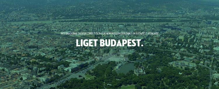 """Chamada para o Concurso Internacional de Projeto """"Liget Budapest"""""""