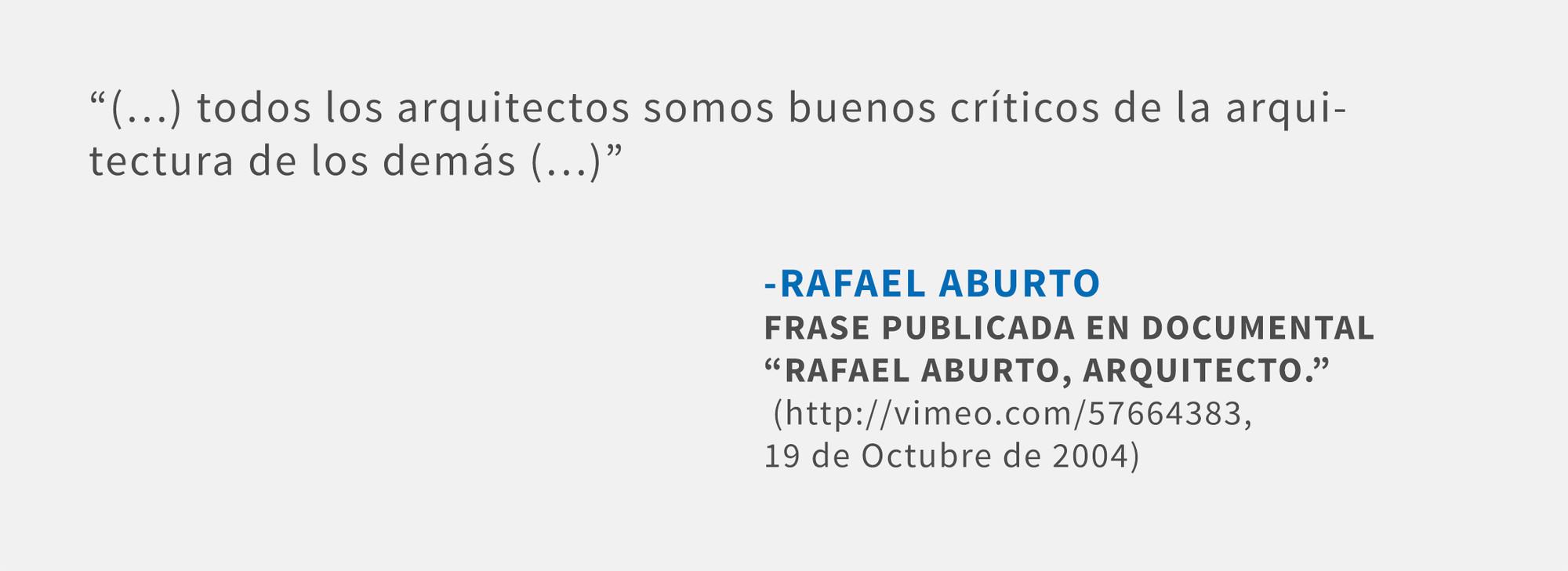 Frases: Rafael Aburto