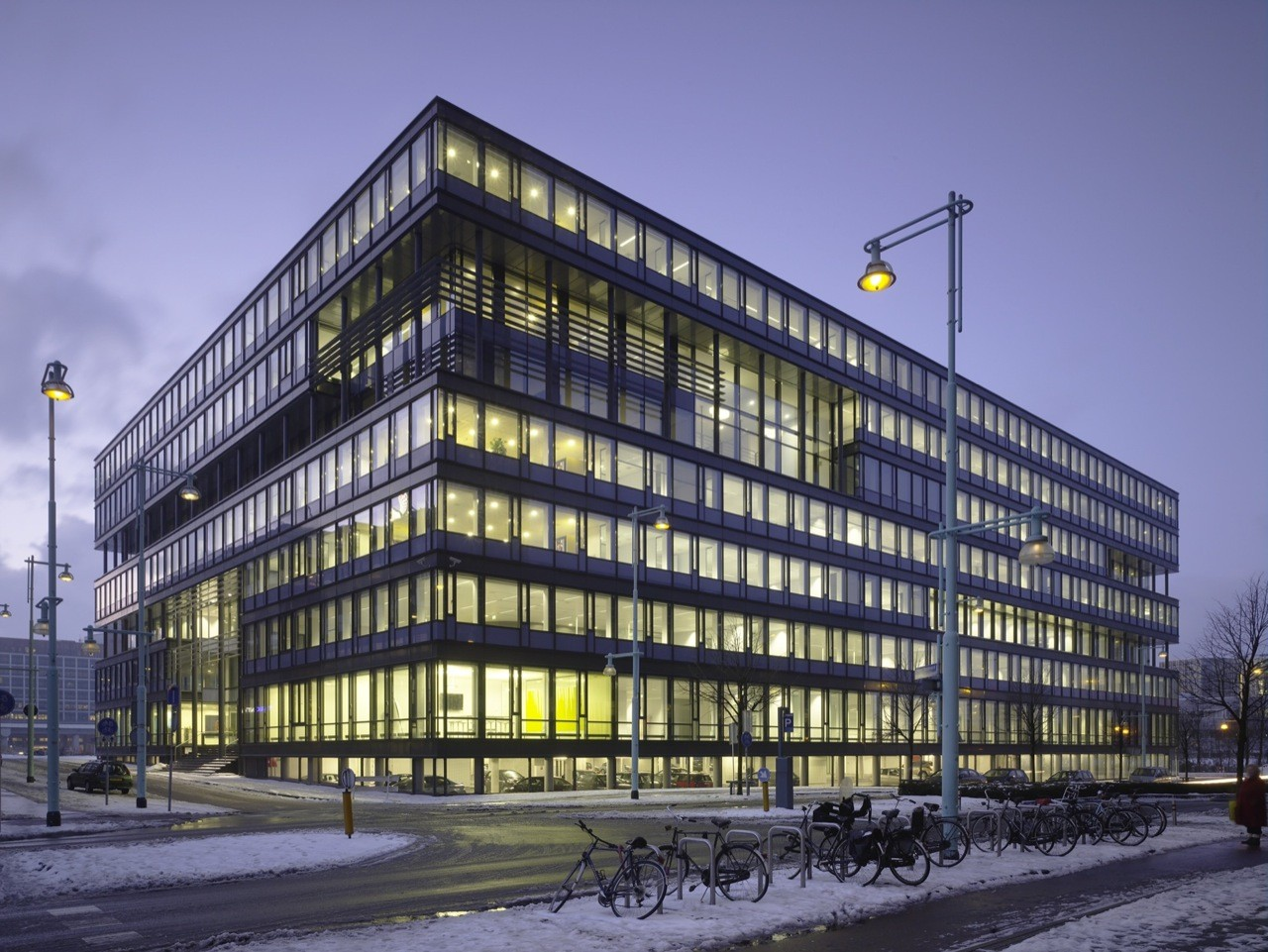 KPN Dutch Telecom Company / de Jong Gortemaker Algra Architects, © Christian Richters