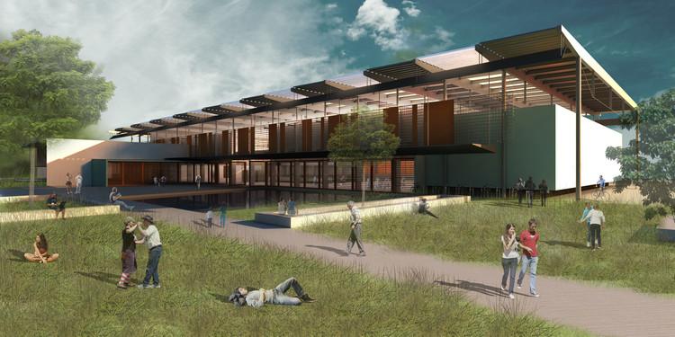 Proposta para Centro Cultural de Eventos e Exposições em Paraty / Grupo Sarau, © Grupo Sarau