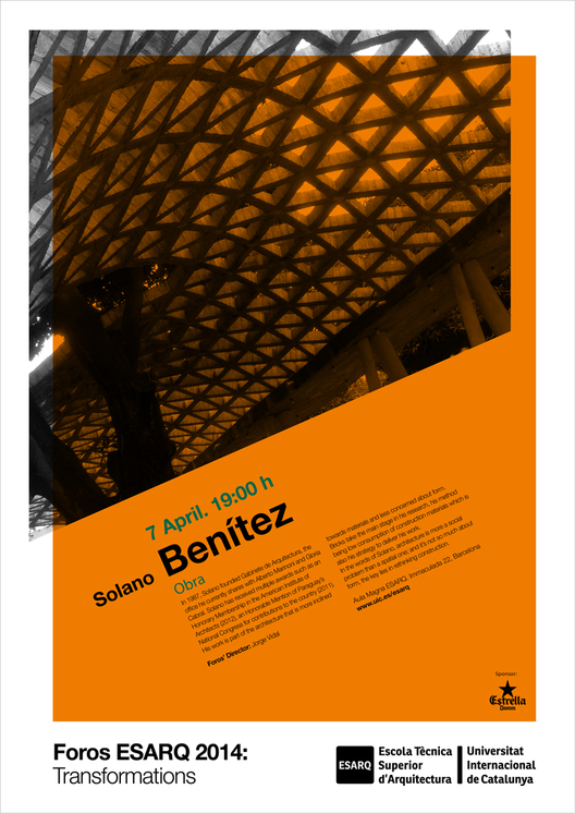 Foro ESARQ-UIC: Solano Benítez