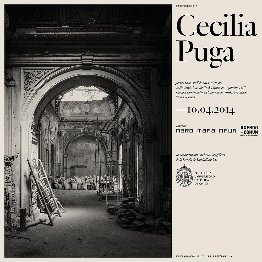 Conferencia Cecilia Puga PUC / Chile
