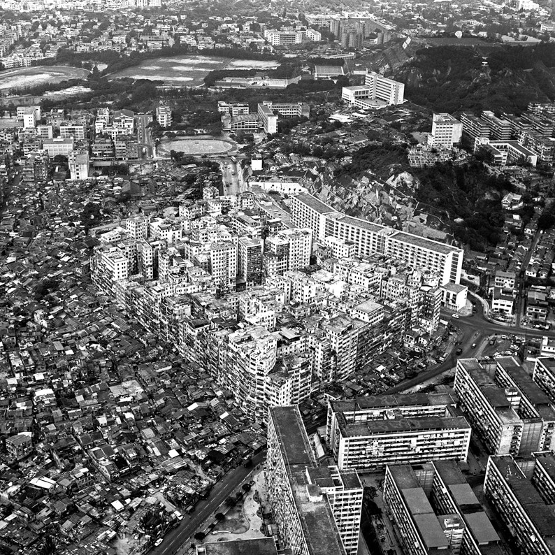 The Architecture of Kowloon Walled City: An Excerpt from 'City of Darkness Revisited', Courtesy of 'City of Darkness Revisited'