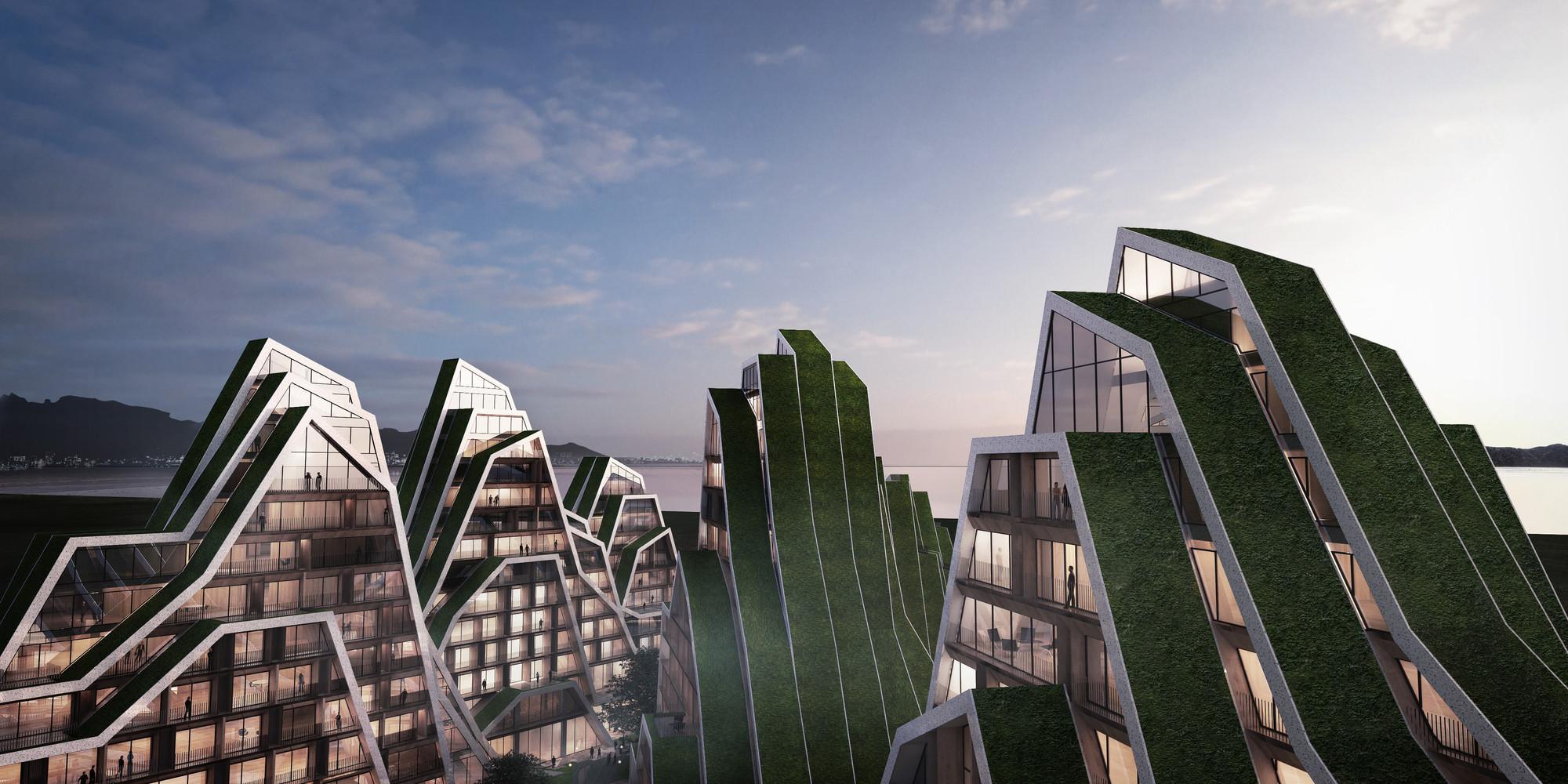 Hualien Residences: ¿El proyecto residencial más 'montañoso' de BIG hasta ahora?