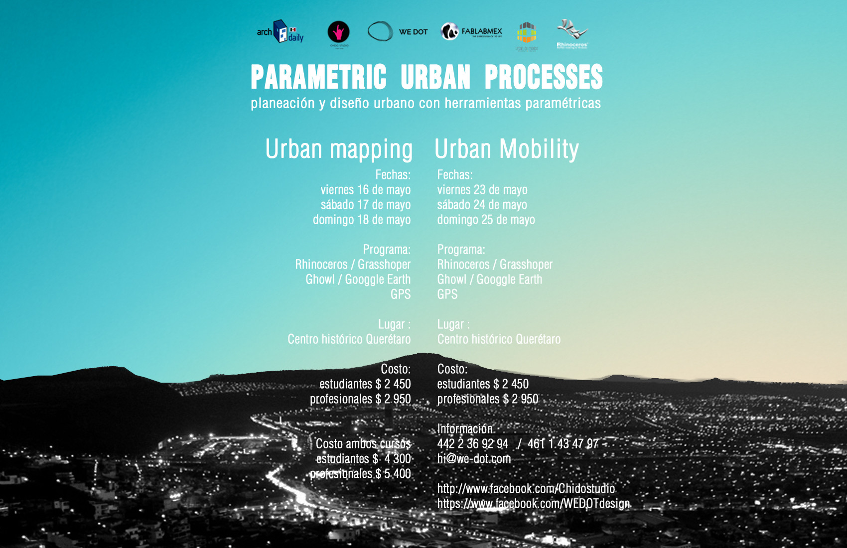 Workshop Parametric Urban Processes / Chido Studio