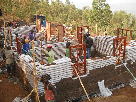 Support GA Collaborative's Earthbag Projects in Rwanda: Building Community Through Creative Construction, Courtesy of GA Collaborative