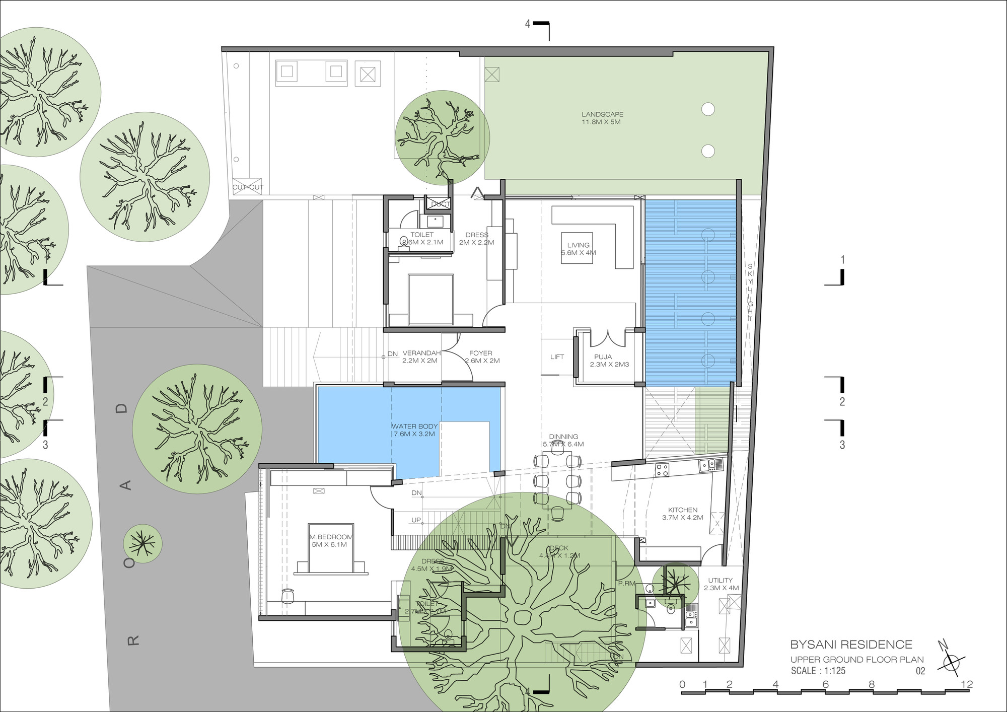 Gallery of wilson garden house architecture paradigm 13 for Garden floor design