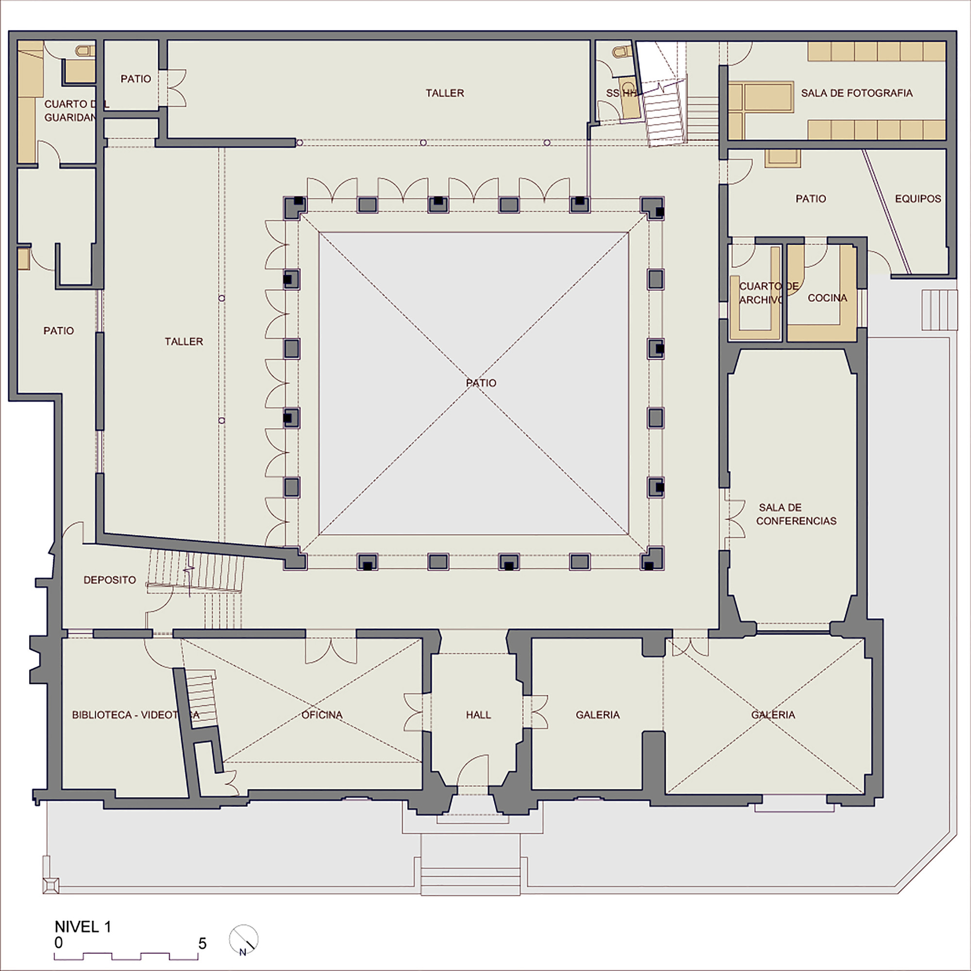 Galeria Arquitectonica: Gallery Of Visual Arts School / Barclay & Crousse