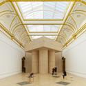 Pezo von Ellrichshausen's Monumental Installation. Image © James Harris