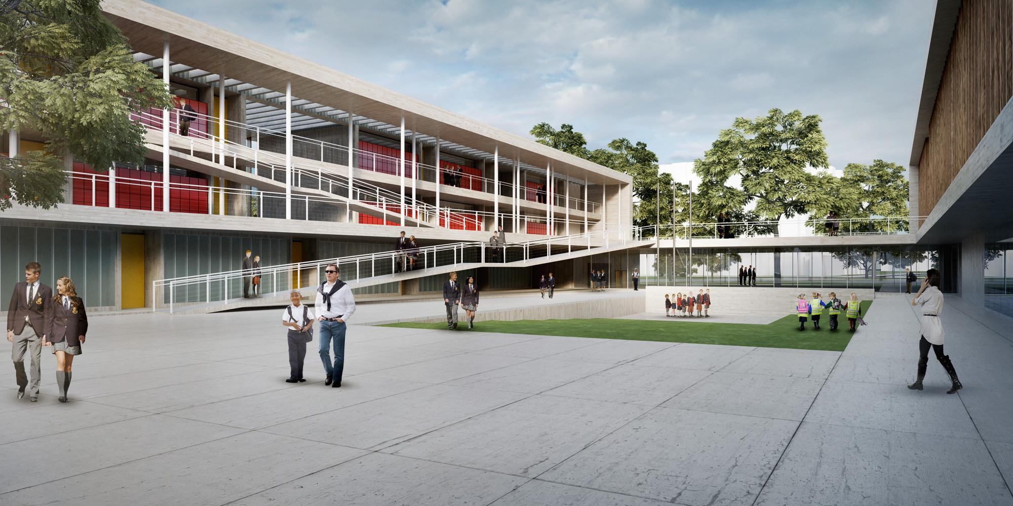 Arquitectura colombiana tag archdaily colombia for Plantas de colegios arquitectura