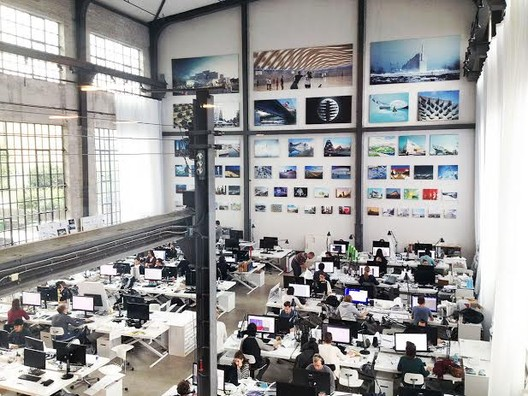 Where Do You Work? The Offices of ArchDaily Readers, BIG's office in Copenhagen. Image © BIG-Bjarke Ingels Group