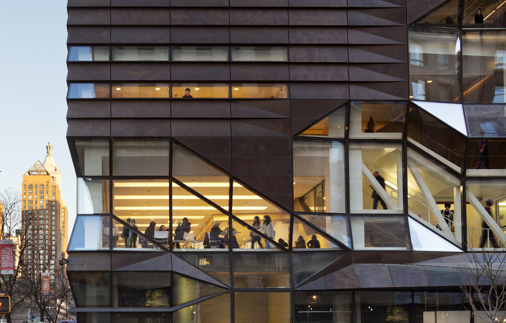 The New School University Center Skidmore Owings Merrill Archdaily